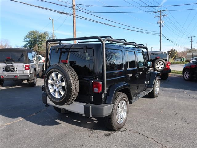 Pre-Owned 2015 JEEP WRANGLER UNLIMITED Unlimited Sahara