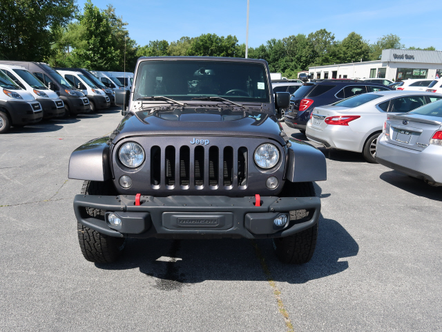 Pre-Owned 2016 JEEP WRANGLER UNLIMITED Unlimited Rubicon