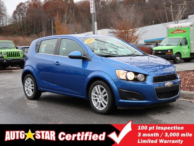 Certified Pre-Owned 2016 Chevrolet Sonic LT Auto