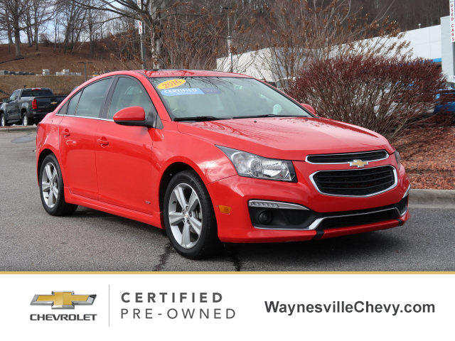 Pre-Owned 2016 Chevrolet CRUZE 2LT