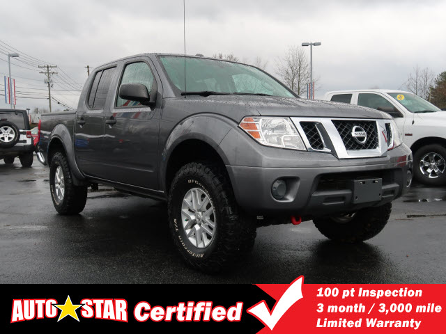 Pre-Owned 2016 Nissan FRONTIER SV