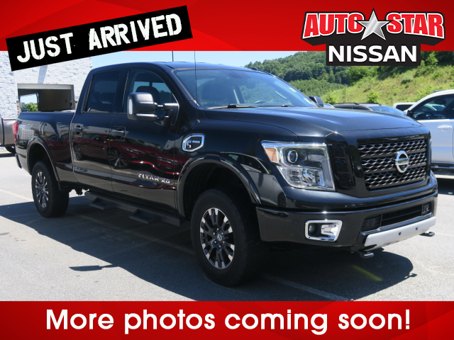 Pre-Owned 2016 NISSAN TITAN PRO-4X