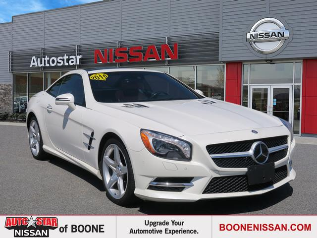 Pre-Owned 2016 MERCEDES-BENZ SL 400 SL 400 Roadster