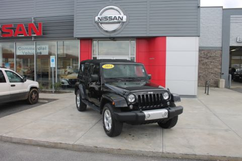 Pre-Owned 2014 JEEP WRANGLER UNLIMITED Unlimited Sahara