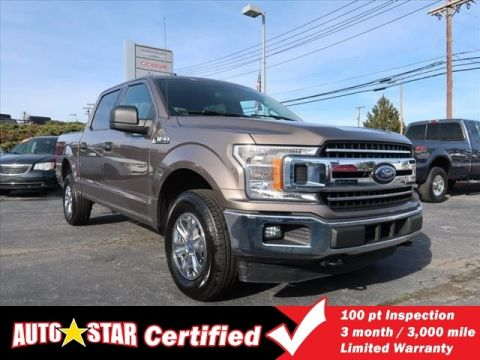 Pre-Owned 2018 Ford F150 XLT